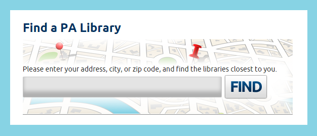 Find your library now!